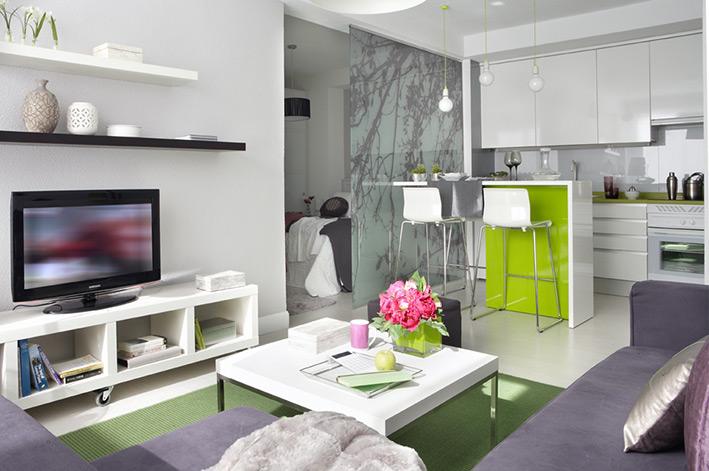 40 metri quadri di puro stile ikea - Soggiorno Cucina 40 Mq
