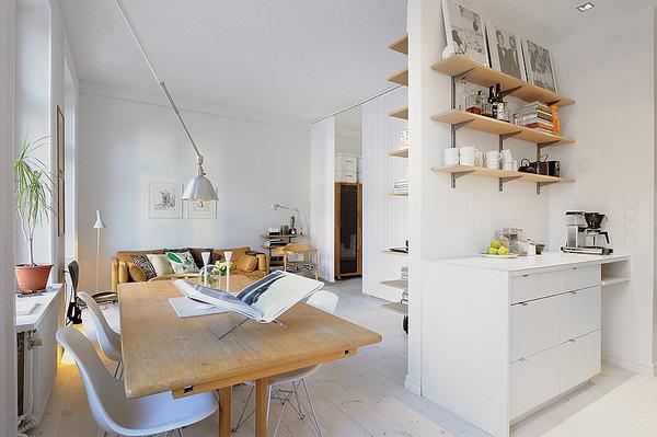 Vivere in 39 Mq a Stoccolma