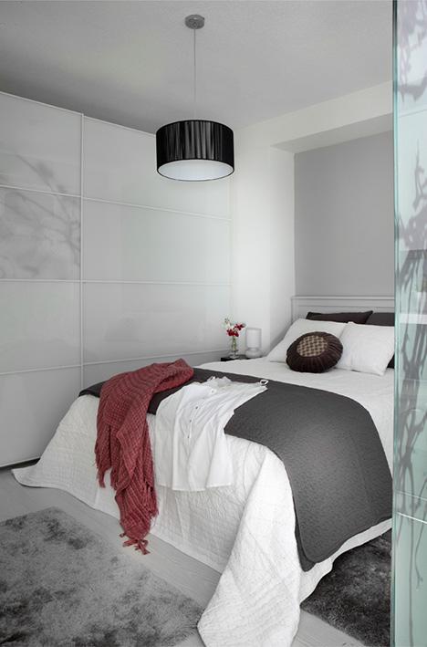 40 metri quadri di puro stile ikea for Camera da letto del soffitto della cattedrale