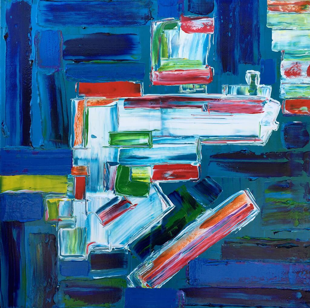 Antonio Franchi: l'esaltazione del colore e delle sue combinazioni