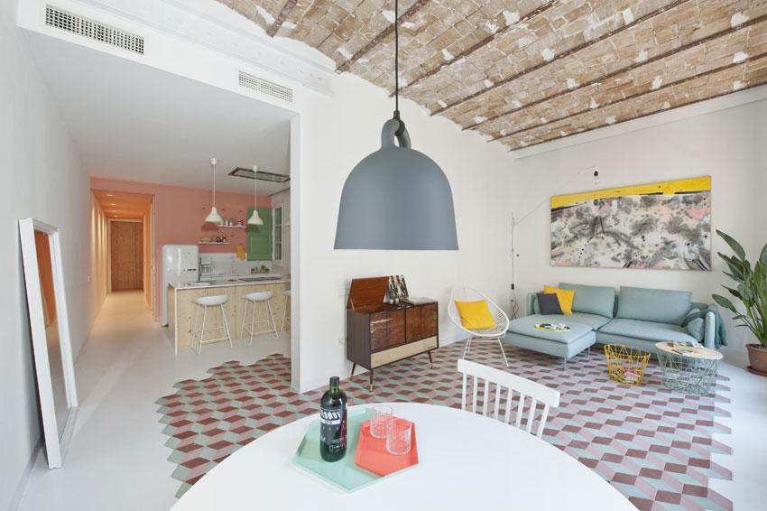 appartamento tyche: l'arredamento contemporaneo sposa l'art ... - Arredamento Contemporaneo Design