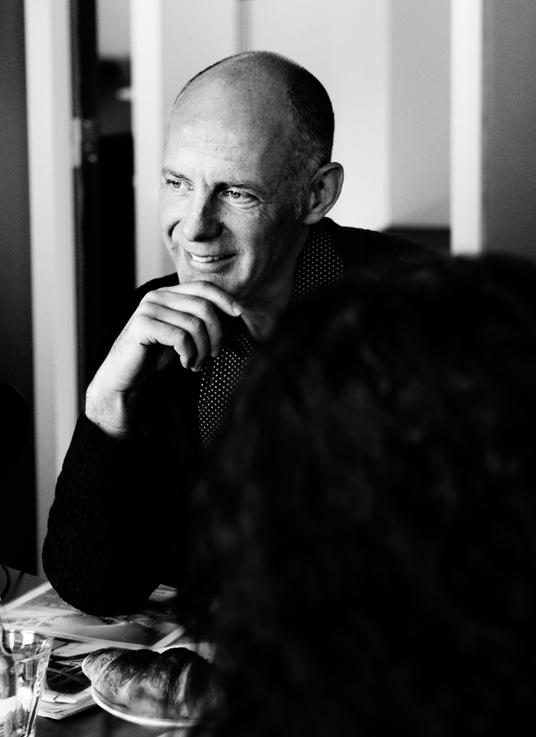 Ben van Berkel: ogni progetto è una sfida poiché bisogna soddisfare i desideri del cliente e trasformarli in soluzioni architettoniche.