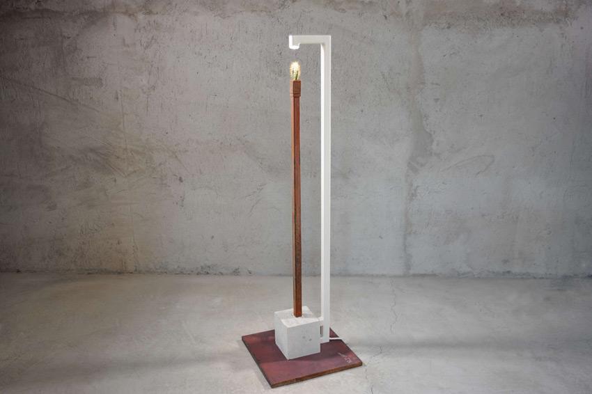 CUBE 972-B: la lampada di design che strizza l'occhio all'artigianato