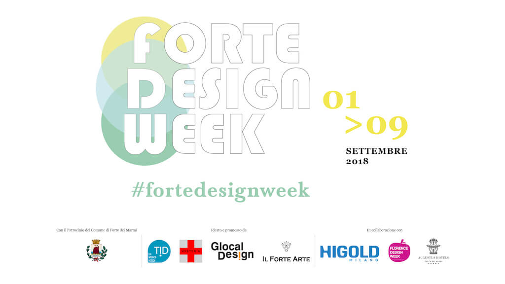 Torna la seconda edizione della Forte Design Week