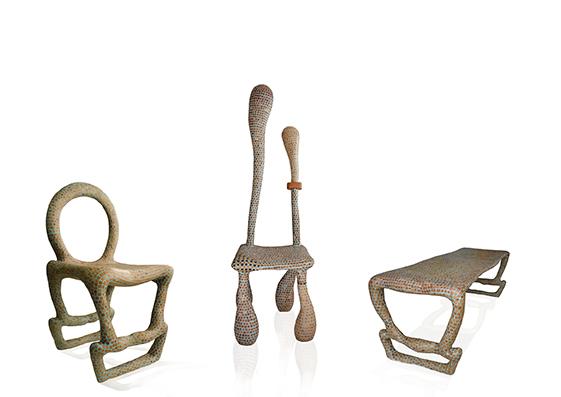 Designer emergenti: i mobili-scultura di Gennaro Comunale