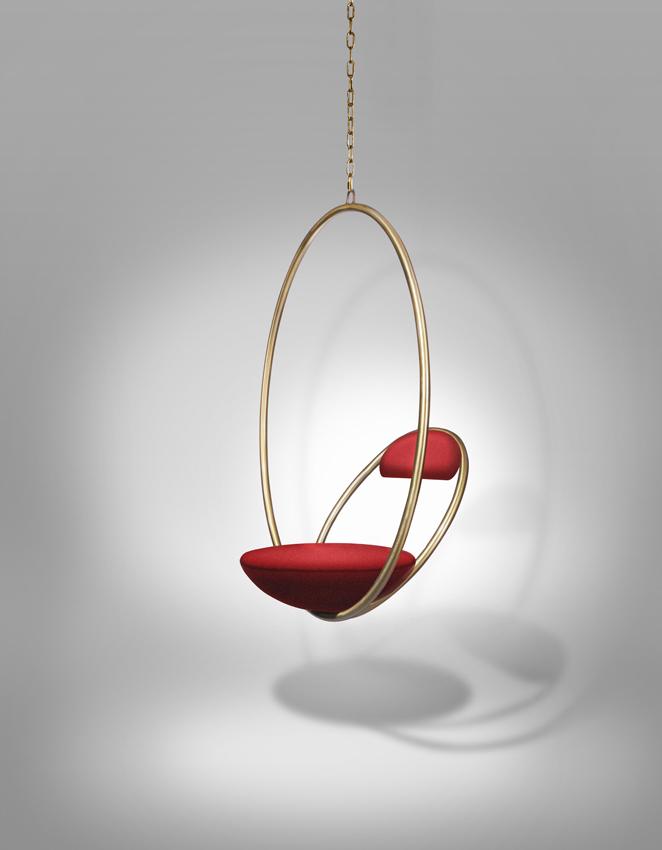 Hanging Hoop, stunning chair by Lee Broom