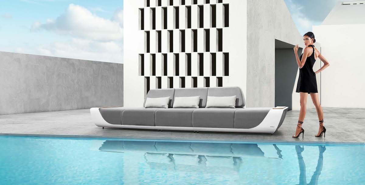 ONDA: outdoor furniture according to Pininfarina
