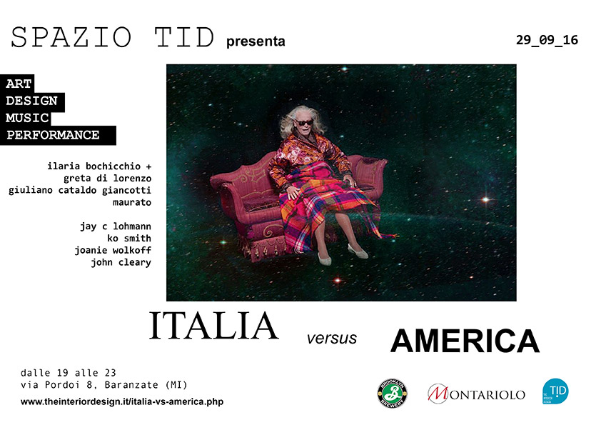 Italia VS America. E chi vince è l'arte multiculturale