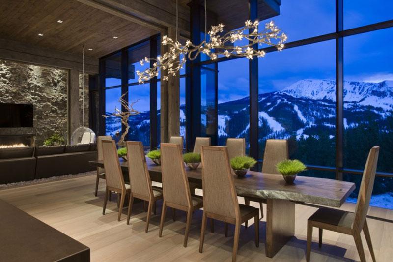 Lusso Ad Alta Quota Per Il Progetto Di Interior Design Di