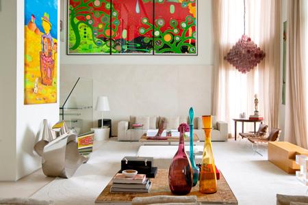 La villa con piscina indoor di Fernanda Marques