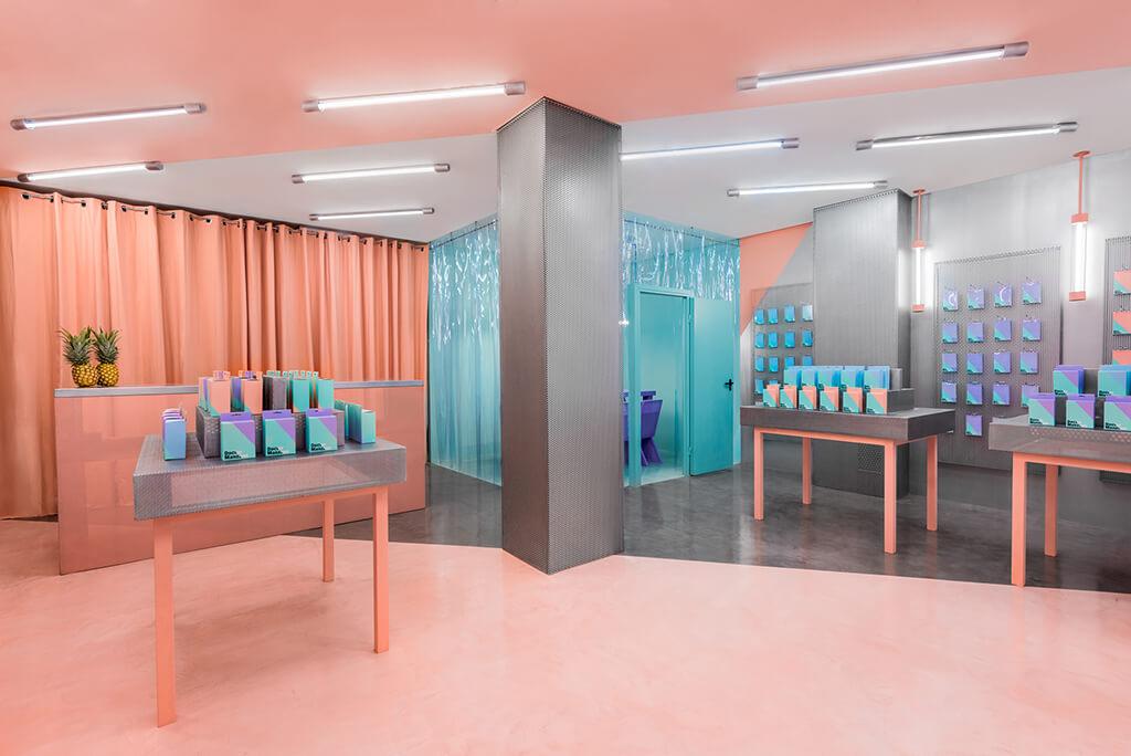 A Valencia c'è un nuovo spazio progettato da Masquespacio