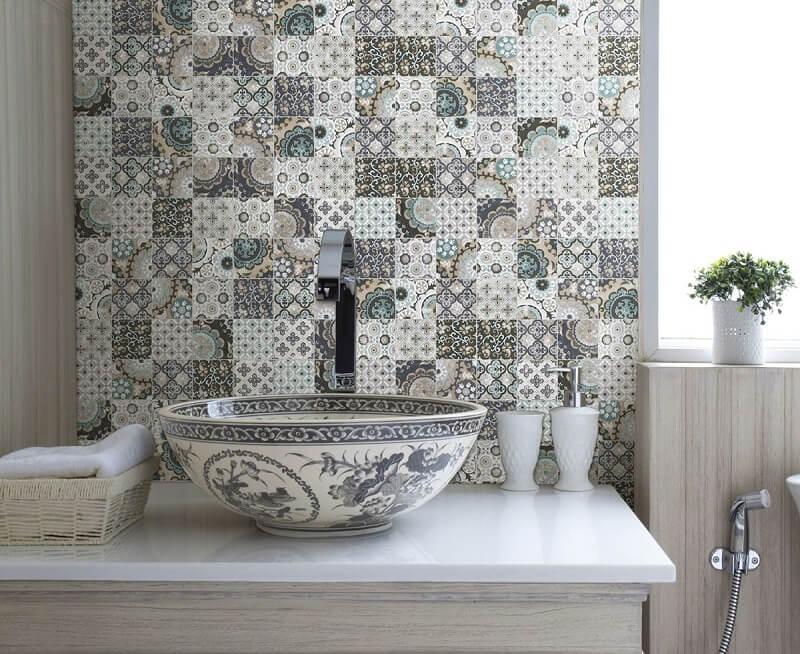 Le piastrelle di tendenza per il bagno