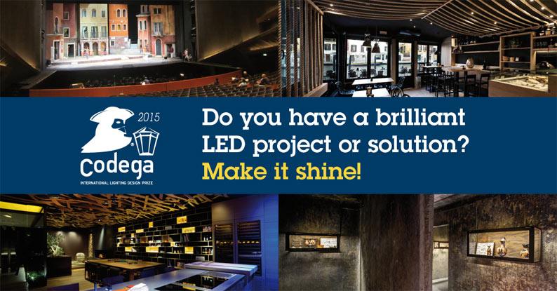 Premio Codega: vincono il design e la progettazione della luce