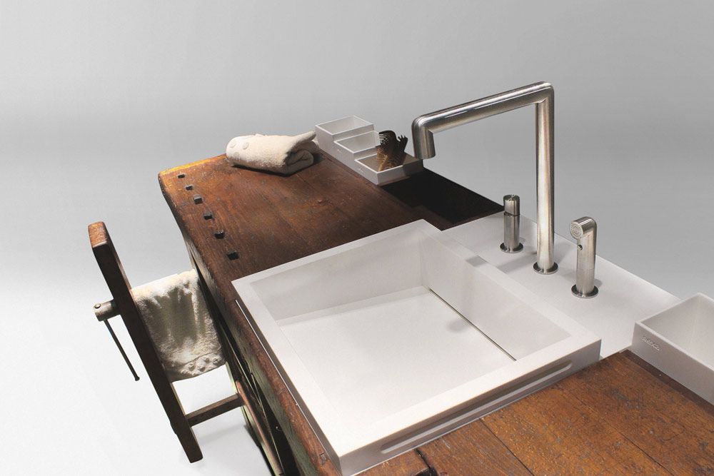 Rexa Design: il mobile lavabo Taul