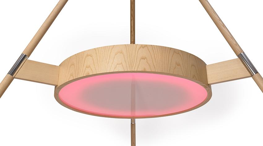 Sifter, la lampada-tavolo per l'outdoor