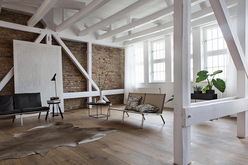 Un loft di design puro e semplice al centro della vecchia Berlino ovest