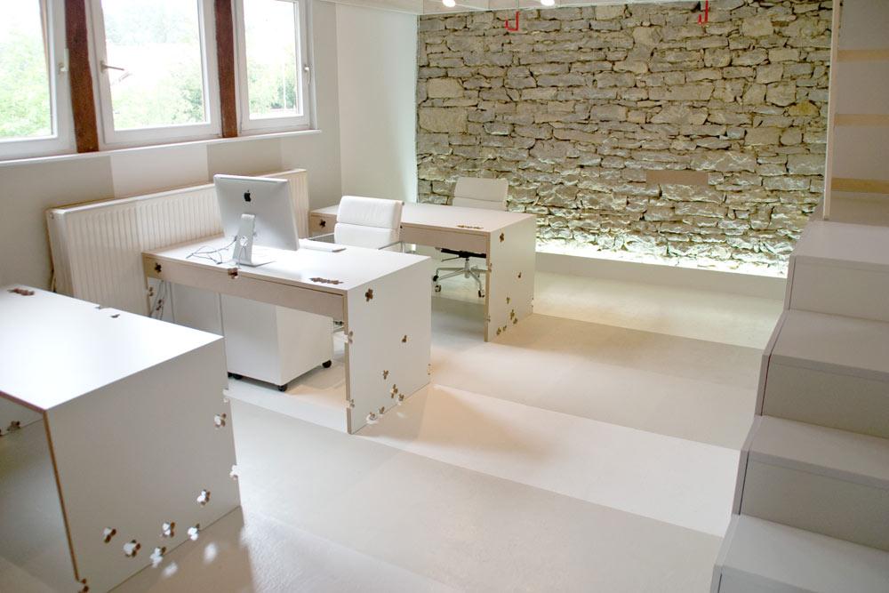 Senagold da un fienile a un ufficio di design for Interior design ufficio