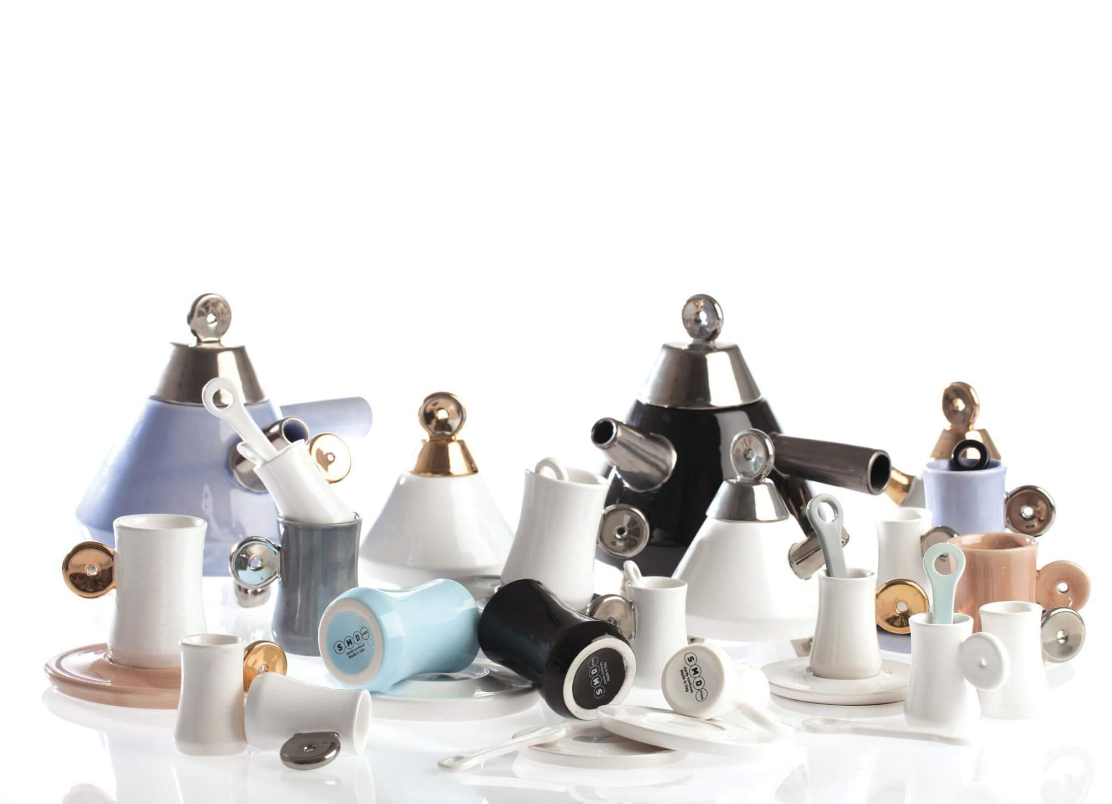 """""""Sofia"""" tea set – la cultura del tè nel design di Serap Korkmaz"""