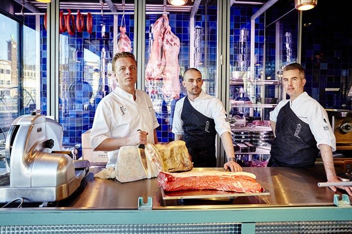 The Roast Room: lo spettacolo della carne