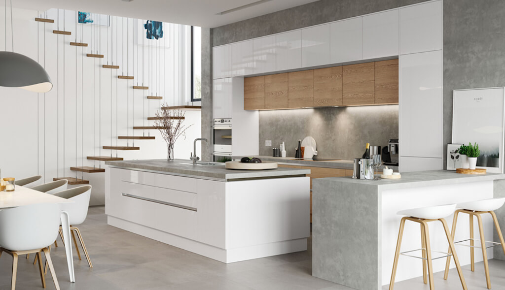 8 Great Reasons Why You Can T Go Wrong With A White Gloss Kitchen