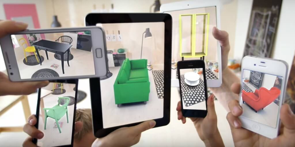 Home decorating in the age Of AR