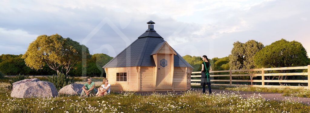 The future of construction? The wooden houses