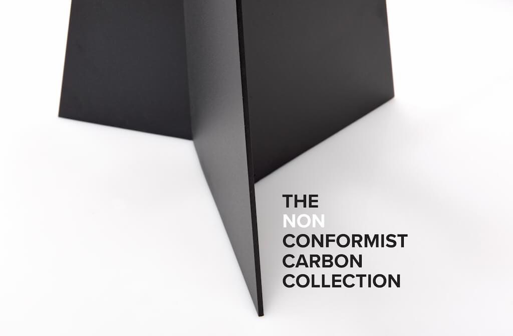 OKHA presenta THE NON CONFORMIST CARBON COLLLECTION