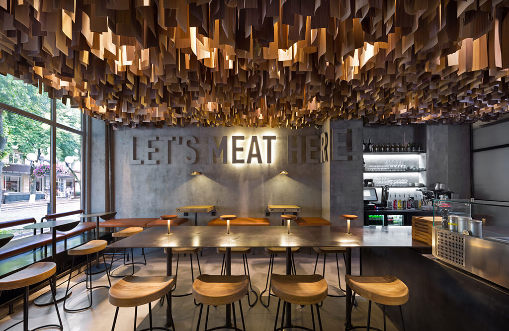 Shade Burger - il locale riconosciuto come il miglior ristorante d'Europa