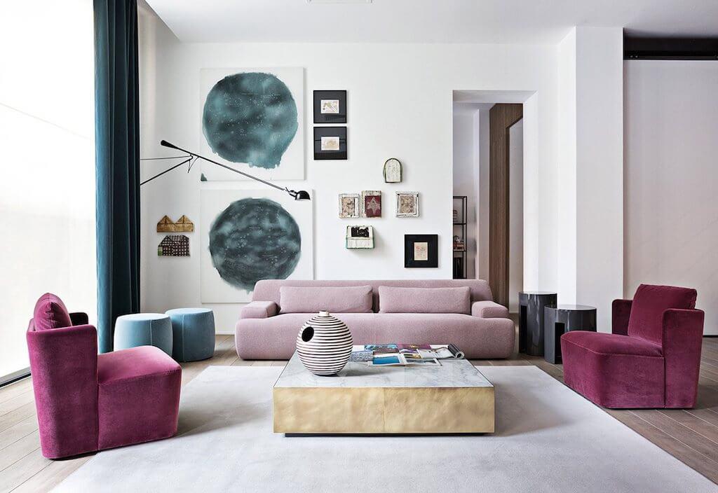 Il tappeto come elemento di decoro