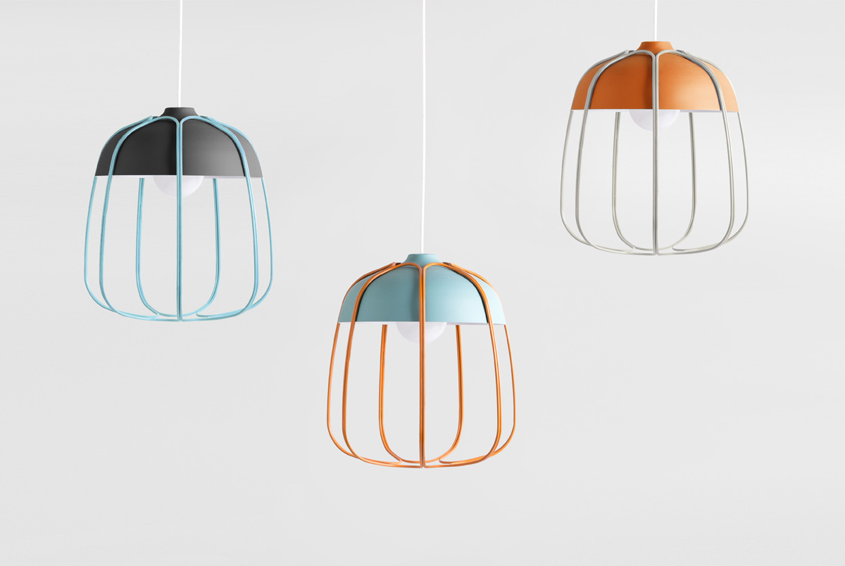 TULL lamp: industrial turns domestic