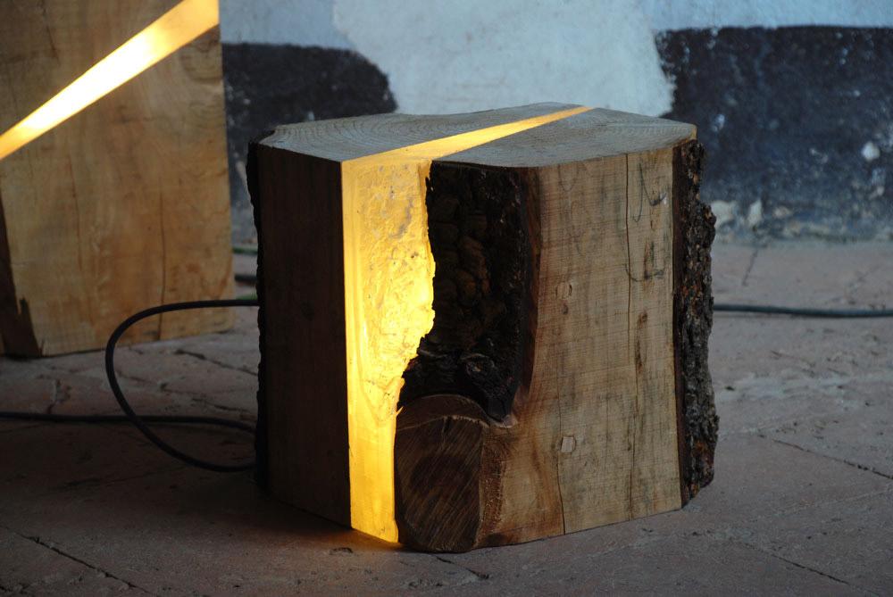 La natura in casa: lampade Brecce by Marco Stefanelli