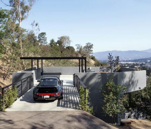 Front Elevation Car : Garage protagonisti a l