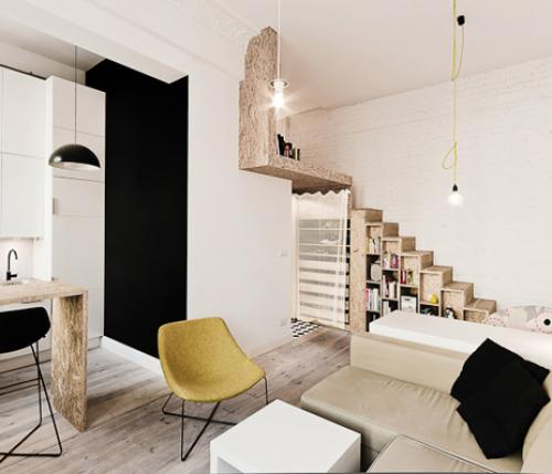29 square meters packed with elegance by 3XA