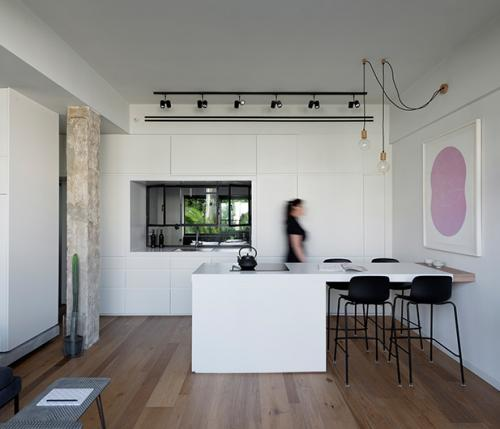 From caterpillar to butterfly: design renovation in tel Aviv