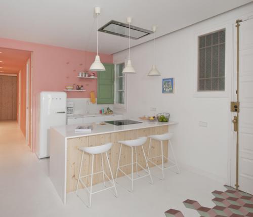 Appartamento tyche l 39 arredamento contemporaneo sposa l for Arredamento art nouveau