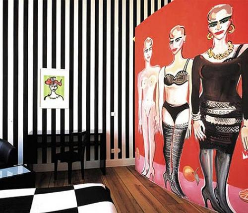 Arte Luise Kunsthotel, an out-and-out art hotel