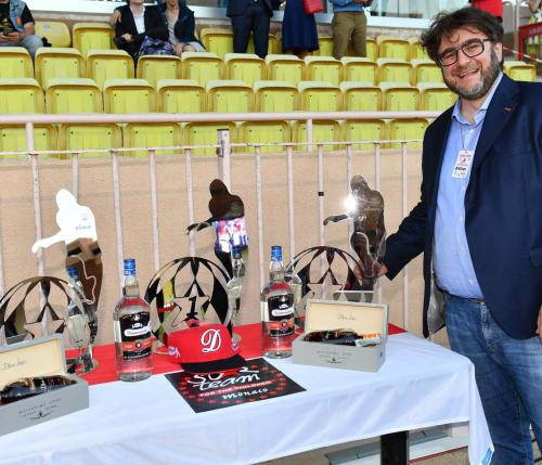 Daniele Basso makes awards at the 25th edition of the World Stars Football Match