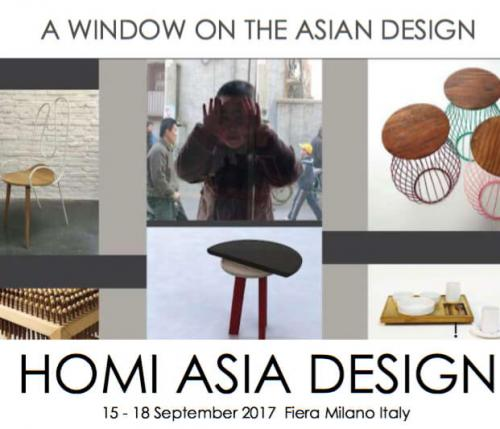 HOMI ASIA DESIGN: a window on the Asia design