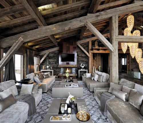 Vacanze A Cinque Stelle Nell'interior Design Delle Alpi