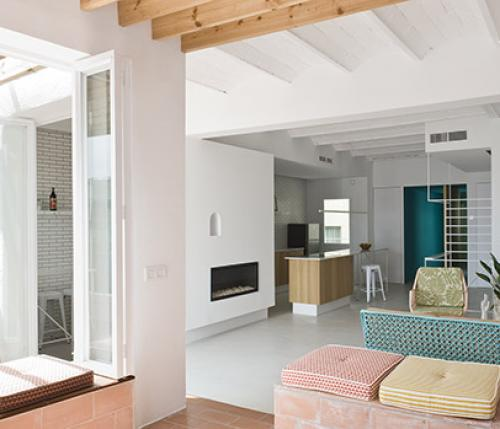 Rocha Apartment: design in the heart of Barcelona