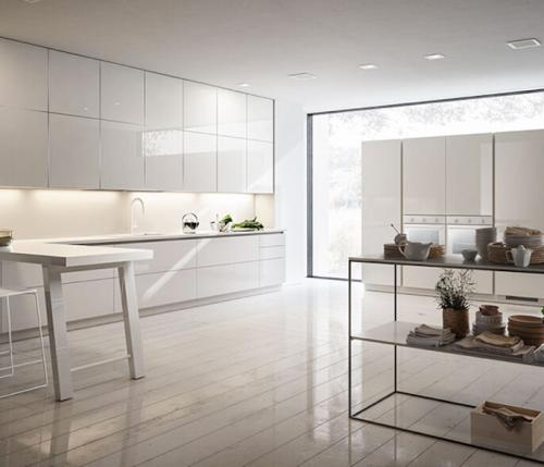8 great reasons why you can't go wrong with a white gloss kitchen