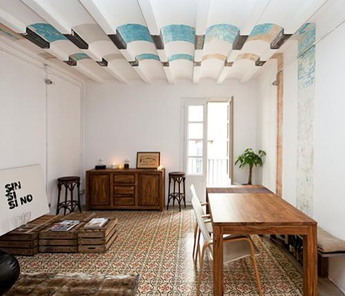 La cultura catalana firma il design di embt studio for Palazzo in stile spagnolo
