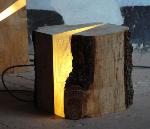 Nature at home: Brecce lamps by  Marco Stefanelli