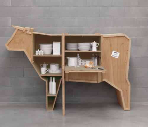 Sending Animals: enjoy farm animals at home, in the form of design items