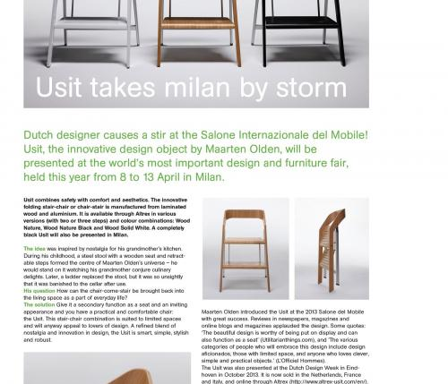 Terrific Usit At Salone Del Mobile Caraccident5 Cool Chair Designs And Ideas Caraccident5Info