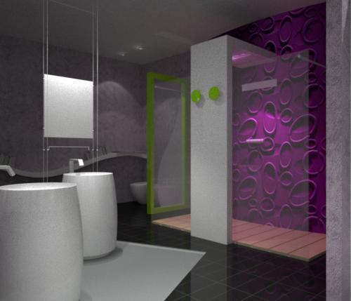 Arredamento stanza da bagno for Arredamento hotel liguria
