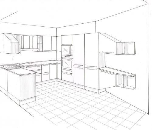 Cucina con vetrata vista mare - Cucina con vetrata a vista ...