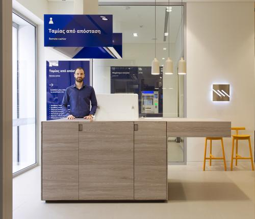 HIGH TOUCH DIGITAL BRANCH FOR PIRAEUS BANK