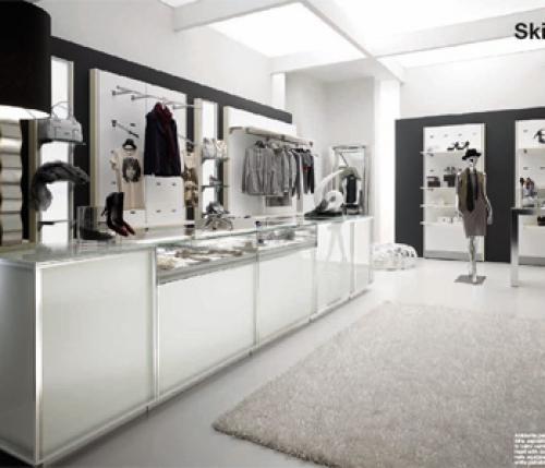 Progettazione e arredamento negozio abbigliamento liguria for Arredamento negozi genova