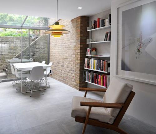 Arredo e progettazione di una nicchia in un soggiorno for Arredare nicchia soggiorno